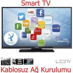 Hİ-LEVEL 102 EKRAN DAHİLİ UYDU ALICILI+SMART LED TV FULL HD HDMI (TEŞHİR ÜRÜNÜ) 2YIL GARANTİLİ ÜCRETSİZ TESLİMAT---1099TL---